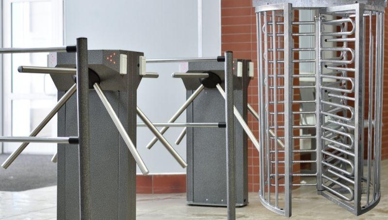 iMAT's turnstiles